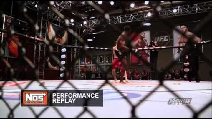 Ultimate Fighter Knockout of the Year 2013 Hall vs. Cella