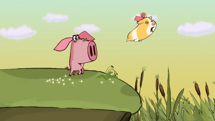 Поросёнок • Серия 4 «Морская свинка» (Piglet. Part 4 - «The guinea pig»)