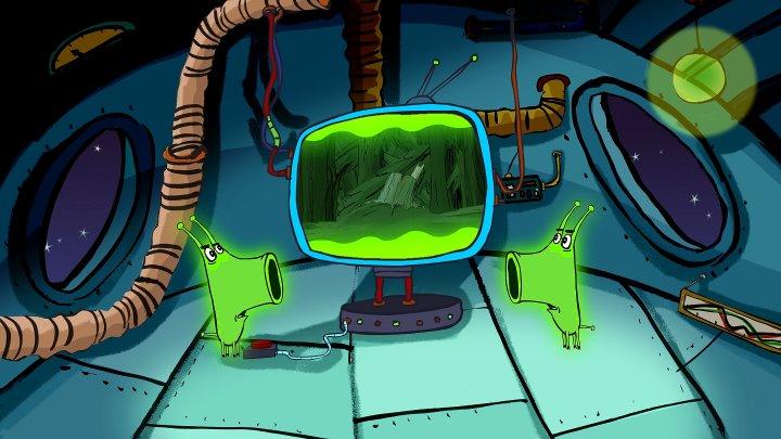 Поросёнок • Серия 7 «НЛО» (Piglet. Part 7 - «UFO»)