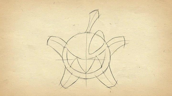 Как рисовать... • Как нарисовать Буку (Cut the Rope 2)