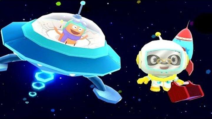 Носики Курносики • Доктор Панда в Космосе - Развивающий мультфильм для детей / Dr Panda in Space