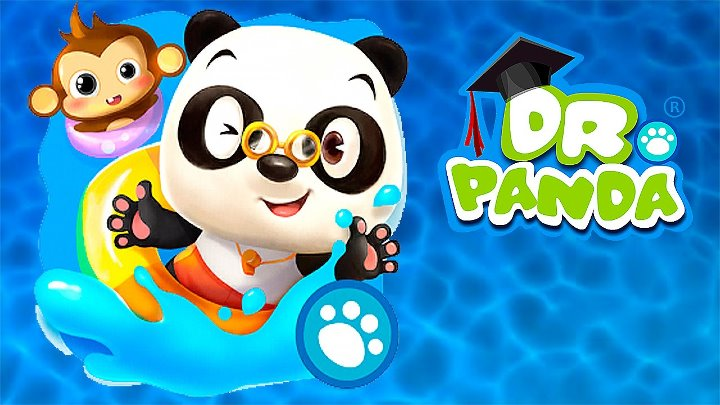 Носики Курносики • Бассейн Доктора Панды - Мультик игра для детей. Dr Panda's Swimming Pool