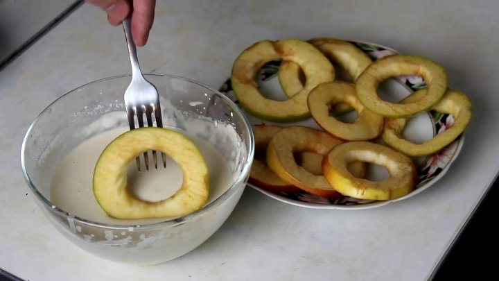 Альба • Яблочные КОЛЬЦА ПОНЧИКИ