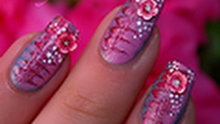 How to : Millefeuille nail art