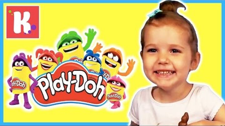 МИСТЕР МАКС и МИСС КЭТИ - лепим из Плей До логотип канала. Mister Max and Miss Katy Play Doh