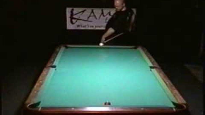 Pool Trick Shots From The One-Handed Hustler