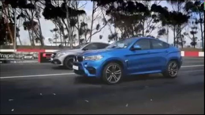 BMW X6M & Mercedes Benz GLE 63AMGS coupe