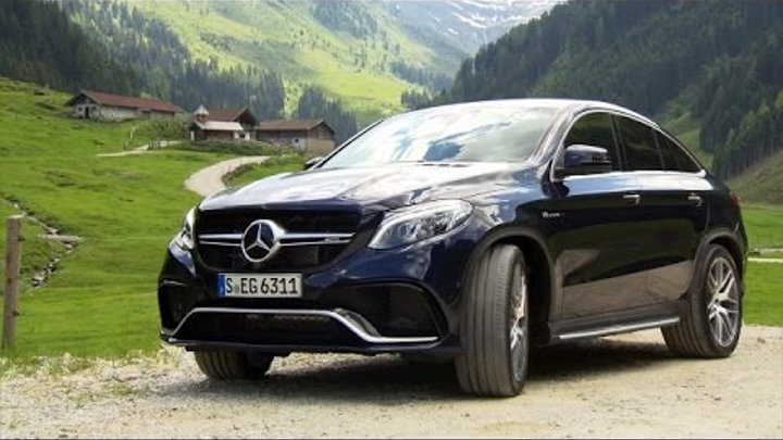 2016 Mercedes AMG GLE 63 S (585 hp) 4MATIC Coupé - new model