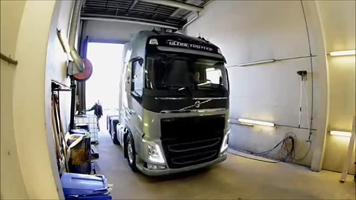 Volvo Truck Factory Line