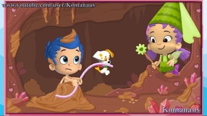 Bubble Guppies Happy Valentine's play Гуппи и Пузырики