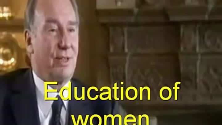 H.H Aga Khan Interview about Islam May 2009