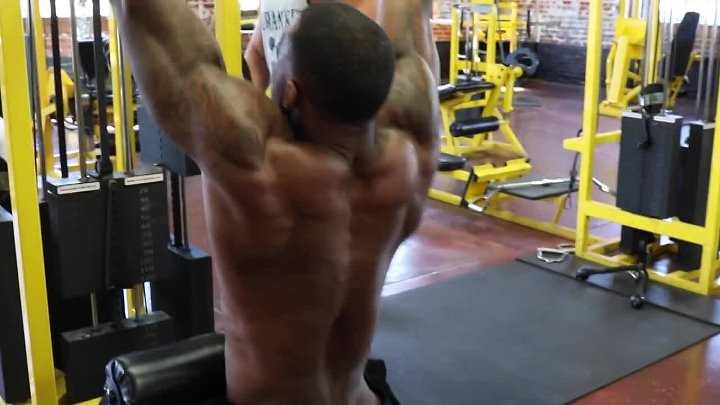 Big Back Workout with Mike Stripling