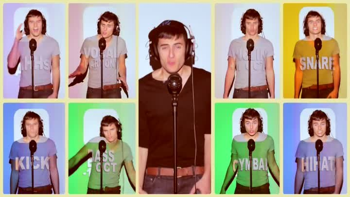 Katy Perry Firework - A Capella Cover - Mike Tompkins - Beatbox