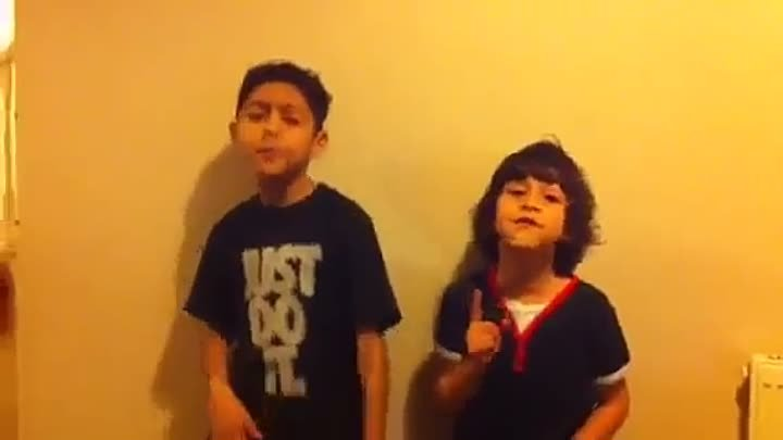 Bruno Mars Grenade Cover Musty Two Brothers Singing 10 year old