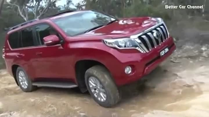 2016 Toyota Land Cruiser Prado vs 2016 Toyota Fortuner Off Road Testing