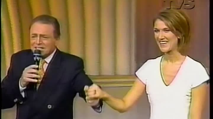 Celine Dion – Falling Into You (Dimanche Martin 1996 France)