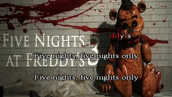 FNAF 2 Song by Roomie караоке под плюс