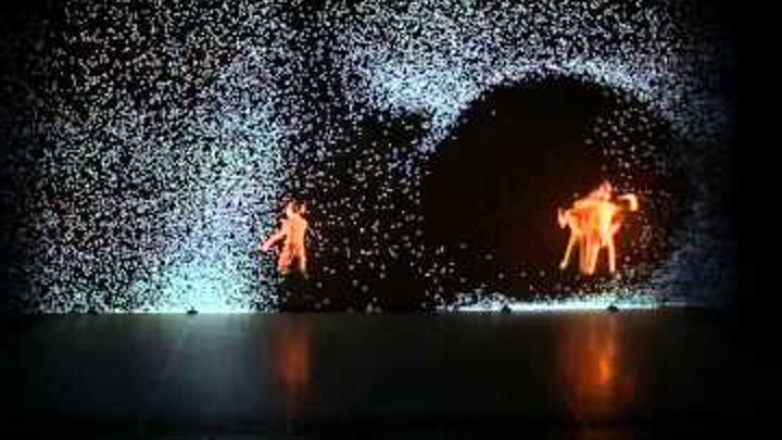 Performance of Pixel from French choreographer Mourad Merzouki