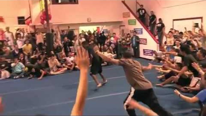 This Black Boy Is Cold: Amazing Athletic Talent - REAL MATRIX MOVES -