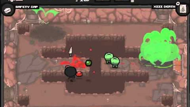 The Binding of Isaac-Wrath of The Lamb #4 Lucky:)Unsuccessful:(