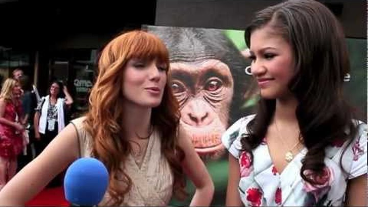World Premier of Disneynature Chimpanzee at Downtown Disney - Red Carpet Interviews