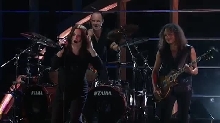 """Metallica with Ozzy Osbourne - Iron Man and Paranoid-(musik.klub ROK- ДЖУНГЛИ!!! -""""(official)""""."""