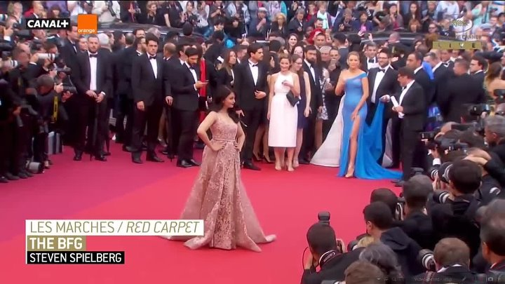 Aishwarya Rai Bachchan Walks The Red Carpet On Cannes Day 2