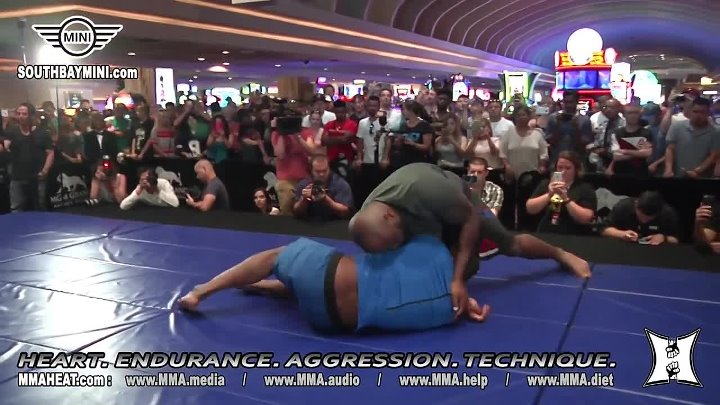 "UFC Vegas_ Derrick ""The Black Beast"" Lewis' Open Workout Before Fighting Roy Nelson"