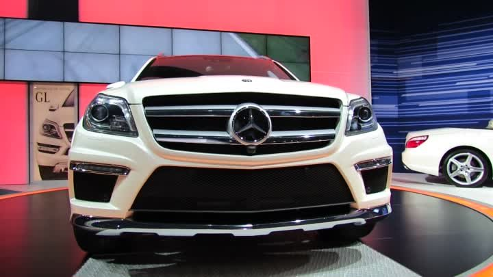 2013 Mercedes-Benz GL550 Exterior - Debut at 2012 New York International Auto Show NYIAS