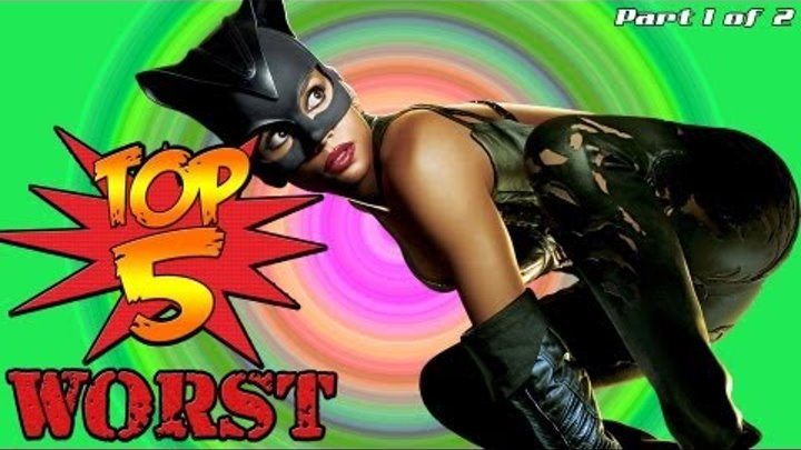 WORST SUPERHERO MOVIES EVER! - #2 Catwoman PART 1 of 2 [HD]