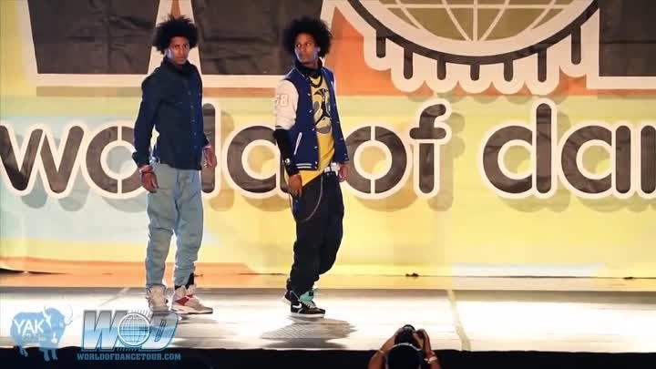 "Dubstep dance and more by ""Les Twins Brothers"""