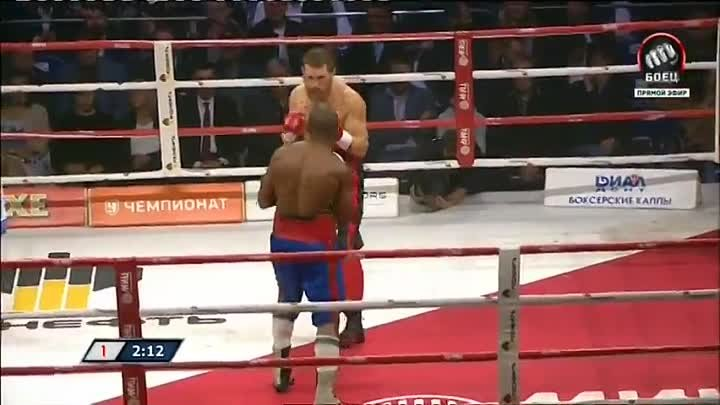 Дмитрий Кудряшов — Сезар дос Сантос 2016-05-21 Dmitry Kudryashov vs Julio Cesar