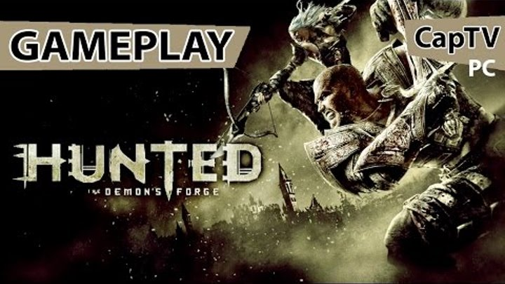 Hunted The Demon's Forge - Кузня Демонов - Gameplay - Let's Play - на русском - Xbox 360.