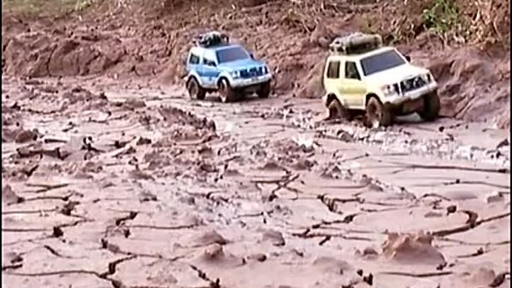 PAJERO´S TROPHY 4 -The mud day-