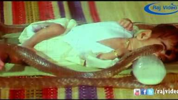 Jagan Nayagi Movie | Snake & Baby Super Scene