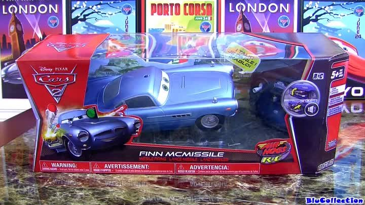 Cars 2 Air Hogs Missile Firing Finn McMissile From Spin Master Disney Pixar Review by Blucollection