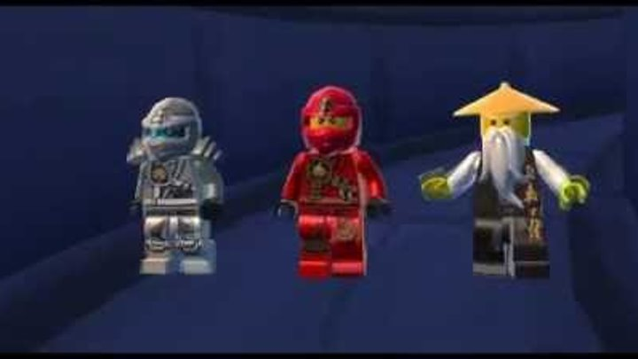Лего Ниндзяго мультик Игра на русском языке.Тень Ронина Эпизод 15.LEGO Ninjago Game.Episode 15
