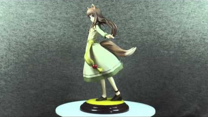 Anime figure review - Обзор аниме фигурки - Ookami to Koushinryou - Holo (Horo) Renewal Package Ver.