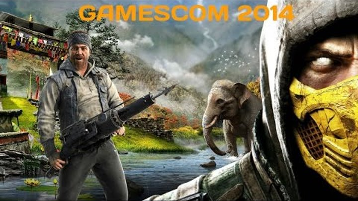 Игры Gamescom 2014. Часть 7. Mortal Kombat X, Far Cry 4