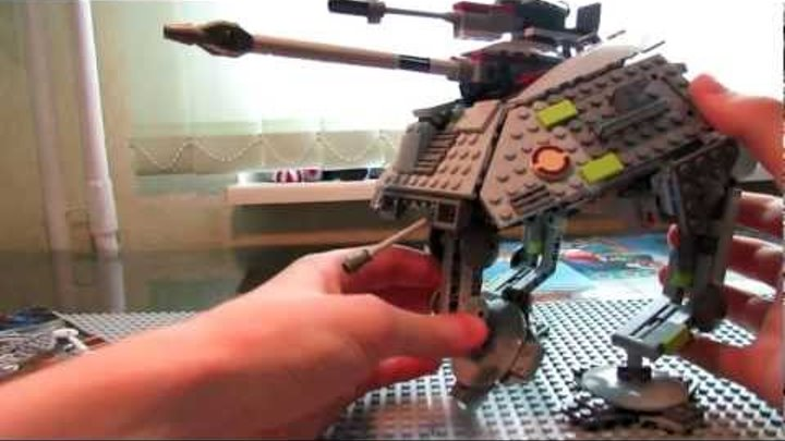 Lego Star Wars 7671 AT-AP Walker Review