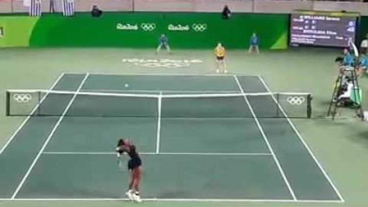 Rio Olympics 2016 Serena Williams dumped out by Elina Svitolina