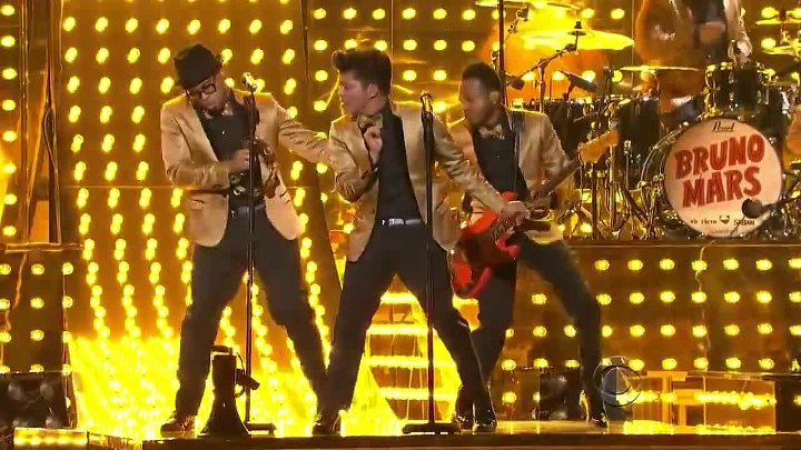 Bruno Mars - Runaway baby (Grammy Awards 2012)