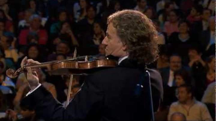 André Rieu - The Waltz goes around the world (The Beautiful Blue Danube)