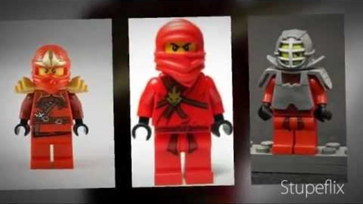 Lego Ninjago ALL OF THE NINJA MINIFIGURES!!! 2012