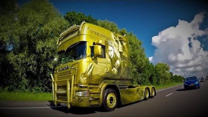 BERTHONS VIKINGS SCANIA V8 DETAILED WALK AROUND