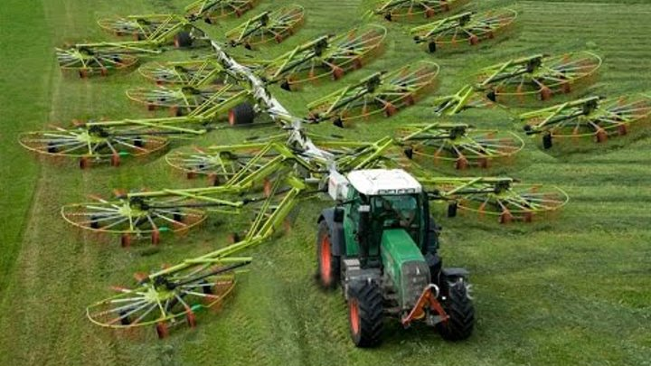 World Amazing Modern Agriculture Equipment and Mega Machines: Tractor, Harvester, Loader, Excavator