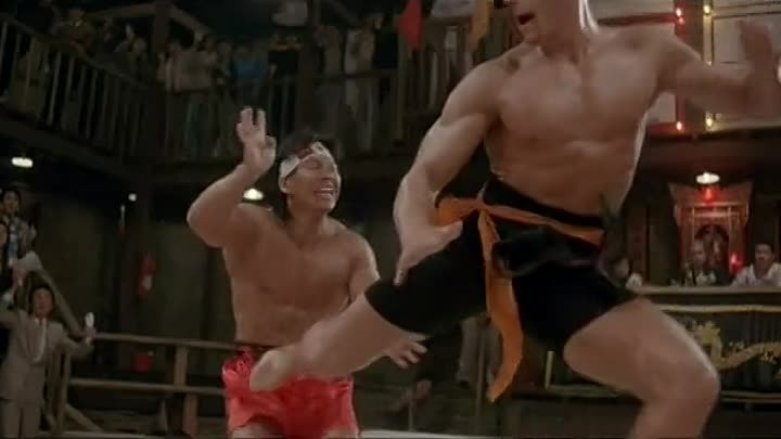 Jean-Claude Van Damme- Bloodsport Final Fight (1988) - High Quality