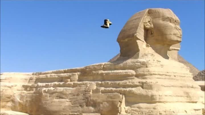 Ufo Spaceship over egypt - 2012