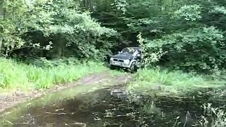 4x4 off road Toyota 4Runner, Hilux