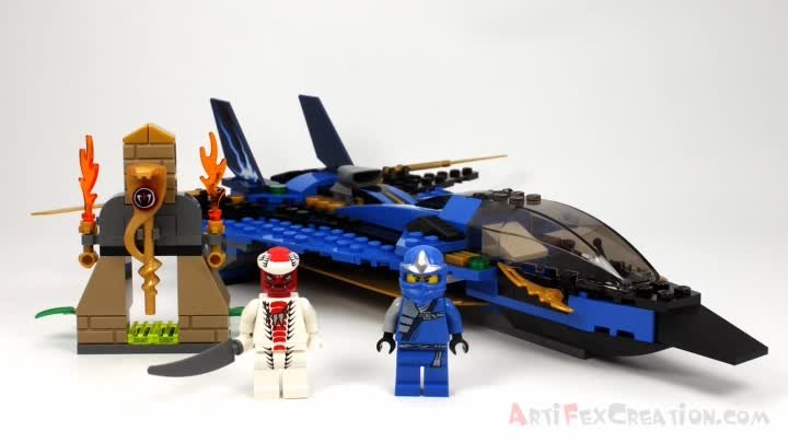 JAY's STORM FIGHTER 9442 Lego Ninjago Stop Motion Set Review